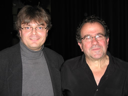 Igor mit Richard Galliano